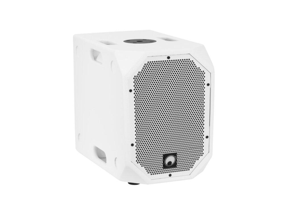 Omnitronic SET BOB-10A + 2x BOB-4 bílé