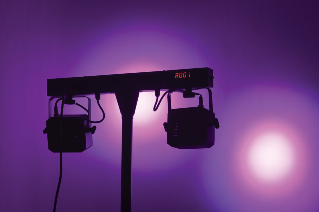 QTX Stereo Twin PAR Bar