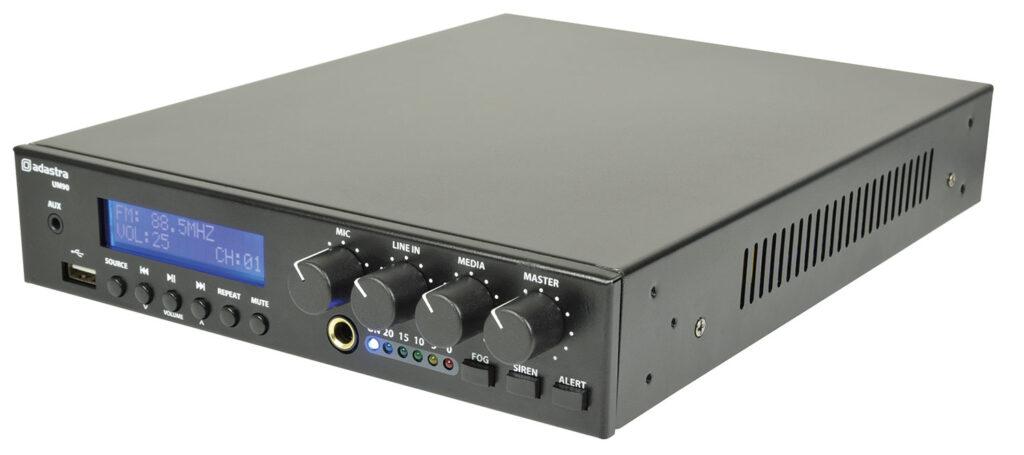 mixážní 100V zesilovač