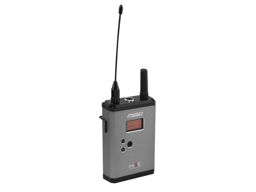 PSSO WISE kapesní bezdrátový vysílač (bodypack) 638 - 668 MHz