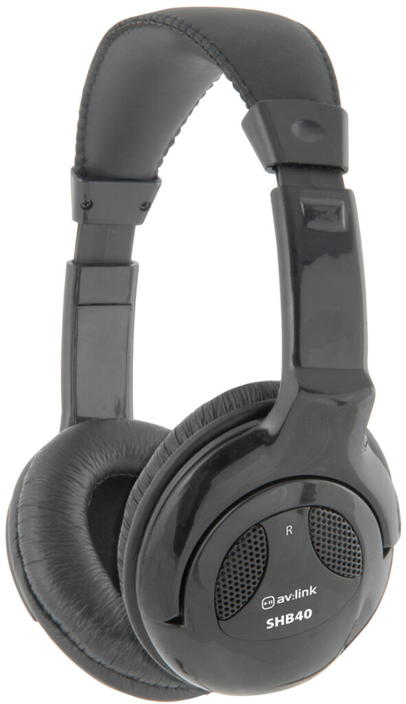 AV:link SHB40II stereo Hi-Fi sluchátka