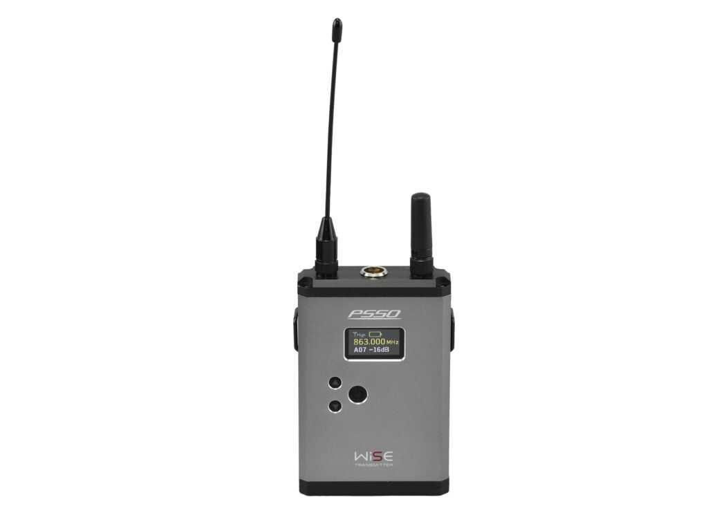 PSSO WISE kapesní bezdrátový vysílač (bodypack) 823 - 832 / 863 - 865 MHz